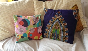 Beginning Sewing--Pillow Cover